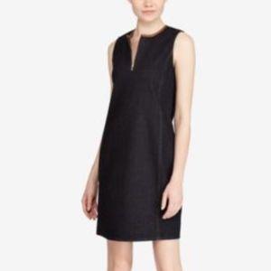 Lauren Ralph Lauren Blue Denim Shift Dress size 14